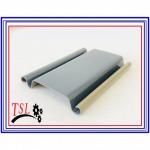 ใบประตูเหล็กกาวาไนส์เคลือบสี (ลอนใหญ่ สีเทา) - โรงงานผลิตประตูม้วน - ไทย ซิน หลิง TSL