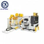 เครื่องคลายม้วนเหล็กแผ่น CK รุ่น 3in1, Uncoiler Straightener Feeder - เครื่องจักรปั๊มโลหะ ซี.เค. แมชชินทูล