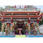 สร้างศาลเจ้าจีน - รับเหมา ก่อสร้าง สร้างศาลเจ้า ศ.พรกิจ