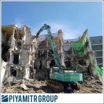 รื้อตึกร้างเพื่อก่อสร้างอาคารหลังใหม่ - รับเหมารื้อถอนก่อสร้างครบวงจร - ปิยะมิตร กรุ๊ป