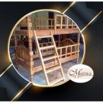 เตียงไม้สัก 2 ชั้น เชียงใหม่ - เฟอร์นิเจอร์ไม้สักแกะสลัก มัลลิกา เชียงใหม่