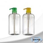 ขวดพลาสติกใสแชมพู ยาสระผม PET bottles - หัวสเปรย์ หัวปั๊ม บรรจุภัณฑ์เครื่องสำอาง เคมีภัณฑ์ เดี้ยนซ์ มาร์เก็ตติ้ง