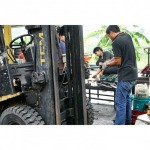 Repair hydraulic system for Forklift Chonburi - Thainics Part & Service Co Ltd