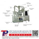Plastic powder grinding machine Plastic Pulverizer Distributor - Thai Mangkorn Plastic Industry Co., Ltd.