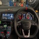 ติดตั้งจอ android และพวงมาลัย - Diamond Auto Service Car พระรามเก้า-นวมินทร์