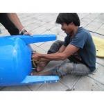งานเปลี่ยนถังยางไดอะแฟรม ถังแรงดัน - บริษัท โซลิด อินเตอร์เทค จำกัด