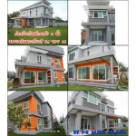 งานก่อสร้างบ้านพักอาศัย 2 ชั้น - บริษัท วัน ทู อะซิสท์ จำกัด