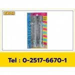 กลอนจัมโบ้ 8 นิ้วชุบโครเมียม - โรงงานผลิตอุปกรณ์ บานประตู หน้าต่าง - K.D.S. 1998