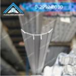 Aluminum shop selling cold room shaped curved scene - Fuji Aluminum Supply Co., Ltd.