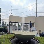 รับสร้างน้ำพุหน้าบริษัท - ติดตั้งน้ำพุ สปริงเกอร์ และหมอก - สุพจน์ การ์เด้น ดีไซน์