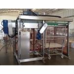 เครื่องลำเลียงขวดแก้วเปล่าใส่สายพาน - บริษัท บางกอกเอ็นจิเนียริ่ง แอนด์ แมชชินเนอรี่ จำกัด