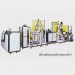 เครื่องผลิตถุงขยะมีสายรูดแบบม้วน - บริษัท ทินโฟ เอนเตอร์ไพร์ส จำกัด
