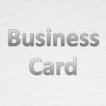 กระดาษนามบัตร - บริษัทขายกระดาษกล่องและแพ็คเกจจิ้ง เอส ซี ที เปเปอร์