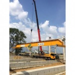Installing a 10 ton factory crane - CCM Engineering And Service Co Ltd