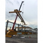 Install a crane to lift a large factory. - CCM Engineering And Service Co Ltd