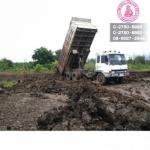 บริการให้เช่ารถบรรทุก  รถขนดิน - รถแทรกเตอร์ ไอ ที วายการโยธา 2012