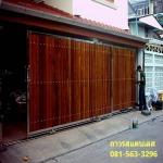 ประตูสแตนเลส นนทบุรี - ประตู กันสาด สแตนเลส ถาวร นนทบุรี