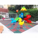 EVA shockproof rubber flooring - Rambokids Play Field