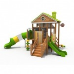 Wooden field players - Rambokids Play Field