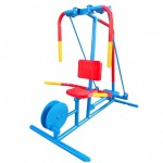 Outdoor fitness equipment factory - Play ground around Thailand Hippo Playground