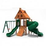 เครื่องเล่นสนามไม้ - เครื่องเล่นสนามทั่วไทย Hippo Playground