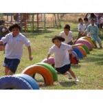 สนามเด็กเล่น BBL - เครื่องเล่นสนาม Hippo Playground