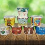 ถ้วยกระดาษ แก้วพลาสติก พิมพ์โลโก้ - รับผลิตบรรจุภัณฑ์อาหาร  U Pack Green Vision