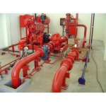 Installation of fire extinguishers, Chonburi factory. - Technical System Engineering Co., Ltd.
