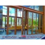 รับติดตั้งประตูกระจก - รับติดตั้งกระจกอลูมิเนียม - ภัทรอลูมินั่ม 2004