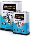 กาวยางพ่น SP(สีฟ้า) Spray Adhesive  - บริษัท ดันล้อป แอดฮีซีฟส์ (ประเทศไทย) จำกัด