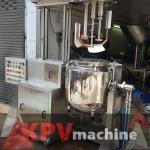 เครื่องผสมครีมระบบสูญญากาศ - รับผลิตเครื่องจักรบรรจุตามสั่ง - เค พี วี แมชชีน เซอร์วิส แอนด์ ซัพพลาย