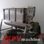 เครื่องผสมแป้ง และผง ระบบริบบอน (ribbon  mixer) - รับผลิตเครื่องจักรบรรจุตามสั่ง - เค พี วี แมชชีน เซอร์วิส แอนด์ ซัพพลาย