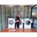 เครื่องซักผ้าหยอดเหรียญ แบ่งเปอร์เซ็นต์ ระยอง - ติดตั้งกล่องหยอดเหรียญ บลู วอเตอร์ ระยอง