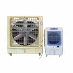 ติดตั้งเครื่องทำลมเย็น - ติดตั้งพัดลมระบายอากาศอุตสาหกรรม พร้อมวางระบบท่อสไปร่อนโดยทีมงานได้รับอบรมด้านปลอดภัยในการทำงาน