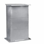 ท่อดักท์เมท - ติดตั้งพัดลมระบายอากาศอุตสาหกรรม พร้อมวางระบบท่อสไปร่อนโดยทีมงานได้รับอบรมด้านปลอดภัยในการทำงาน