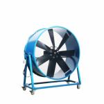 ขายพัดลมเป่าอากาศแบบล้อเลื่อน - ติดตั้งพัดลมระบายอากาศอุตสาหกรรม พร้อมวางระบบท่อสไปร่อนโดยทีมงานได้รับอบรมด้านปลอดภัยในการทำงาน