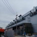 ติดตั้งงานท่อดักท์ - ติดตั้งพัดลมระบายอากาศอุตสาหกรรม พร้อมวางระบบท่อสไปร่อนโดยทีมงานได้รับอบรมด้านปลอดภัยในการทำงาน
