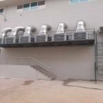 ติดตั้งท่อสไปร่อนโรงงาน - ติดตั้งพัดลมระบายอากาศอุตสาหกรรม พร้อมวางระบบท่อสไปร่อนโดยทีมงานได้รับอบรมด้านปลอดภัยในการทำงาน