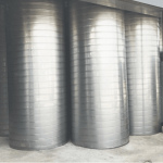 ท่อดักท์สไปร่อนส่งลม - ติดตั้งพัดลมระบายอากาศอุตสาหกรรม พร้อมวางระบบท่อสไปร่อนโดยทีมงานได้รับอบรมด้านปลอดภัยในการทำงาน
