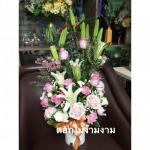 รับจัดแจกันดอกไม้ - ร้านดอกไม้ง้ามงาม