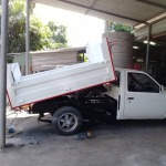 Tipper Pickup Dock Rayong - Dump trucks, repair, installation, repair - Rayong Fertilizer Trailer