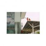 บริการทำความสะอาดบริเวณลานจอดรถ กำแพง รั้ว หลังคาที่จอดรถ - บริษัท ซีซี โปรเฟส เซอร์วิส จำกัด