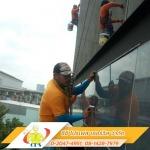 โรยตัวเช็ดกระจกสไปเดอร์ - บริษัท รับทำความสะอาด ปทุมธานี