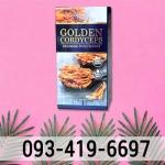 กล่องถังเช่าแบรนด์ GOLDEN CORDYCEPS - กล่องบรรจุภัณฑ์อาหารเสริม เอสซีที อินเตอร์พริ้น