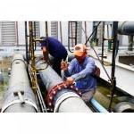 ติดตั้งท่อ ABS สำหรับระบบน้ำเย็น - บริษัท ชาร์เตอร์ (ประเทศไทย) จำกัด
