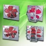 พัดลมใบแดงระบายอากาศ - พัดลมโรงงาน - มงคลถาวรกิจ