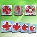 พัดลมใบแดง รุ่นบานเกล็ด - พัดลมอุตสาหกรรม - มงคลถาวรกิจ