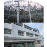 แผ่นฝ้าอลูมิเนียม - โรงพยาบาลธนบุรี 2 - บริษัท สปีด คอนสตรัคชั่น แอนด์ ซัพพลาย จำกัด