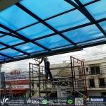 รับสั่งทำหลังคากันสาด ภูเก็ต  (Canopy-Roof) - WORK DESIGNS GROUP