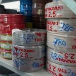 ขายส่งสายไฟ yazaki - บริษัท ภิญโญกิจฮาร์ดแวร์แอนด์อีเล็คทริคซัพพลาย จำกัด